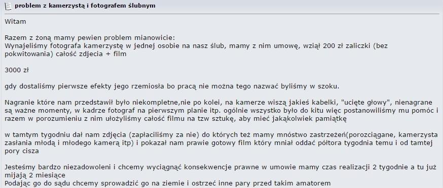 Wyjątkowy Zła jakość filmu z wesela – co zrobić? - filmy-wesele.pl XA-33